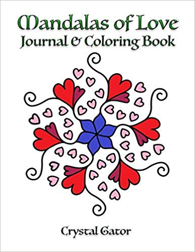 Fifty mandalas of love provide relaxation with a facing page of a lined journal. Space for you to capture your inner thoughts, desires, and wishes as you calm yourself into self-reflection. There are no page numbers or dates on these pages, so you can do intricate mandalas or simple ones that require little effort - in the order you prefer. This is a simple book for you to color while you practice simple meditation. https://amzn.to/2M8XUz6