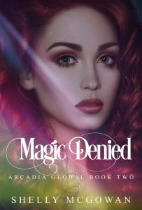 magic denied, book cover, shelly mcgowan